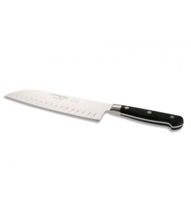 Santoku Knife granton edge, length of blade 18cm