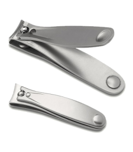 Set of 2pcs. Nail Clipper and Toe Nail Clipper