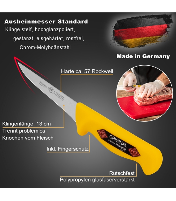 Butcher Knife Set, Profi Line, 4pcs.