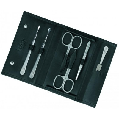 Manicure set Nevada, black, 6pcs.