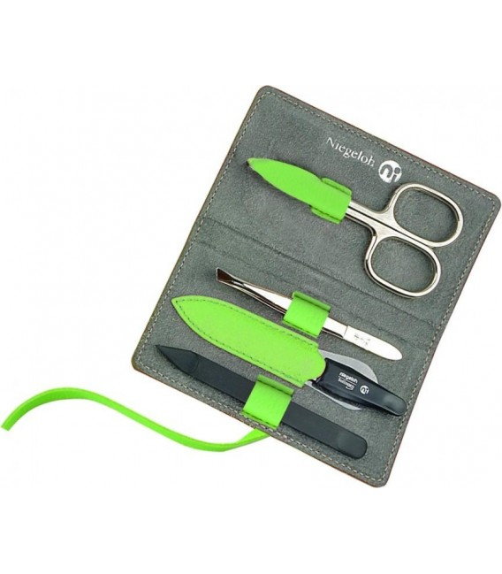 Manicure set Decora, granny smith, 4pcs.