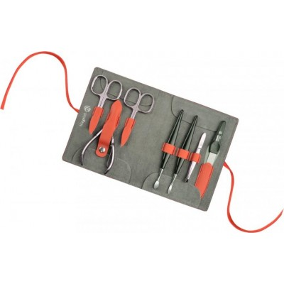 Manicure set Decora, cox orange, 7pcs.