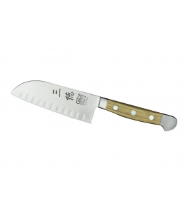 Santoku Knife granton edge, length of blade 14 cm